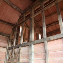 Timber-frame-interior
